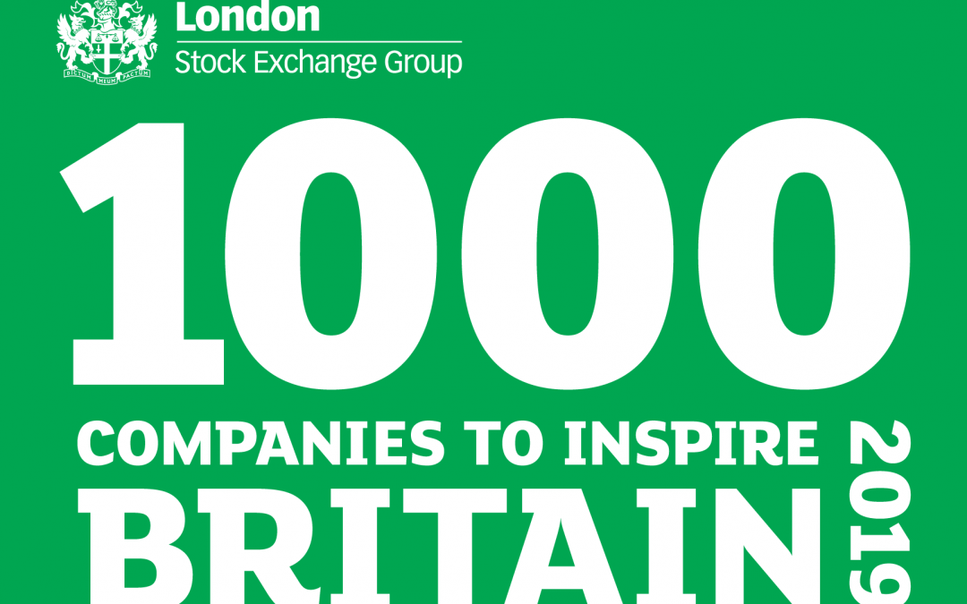 Ergomed recognised in the London Stock Exchange's 1000 Companies to Inspire Britain report