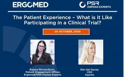 Free Patient-Focused Webinar: The Patient Experience – What is it Like to Participate in a Clinical Trial?